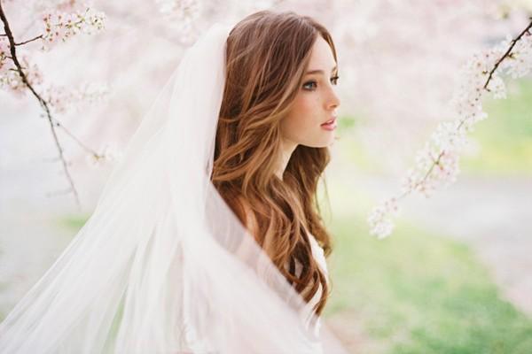 Capelli lunghi da sposa