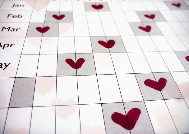 Calendario dell'amore