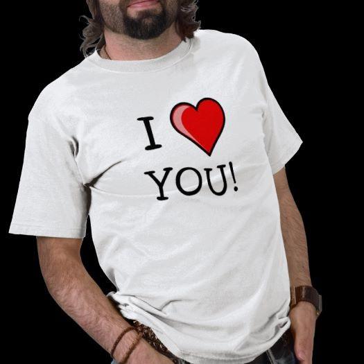 Dire ti amo con una t shirt