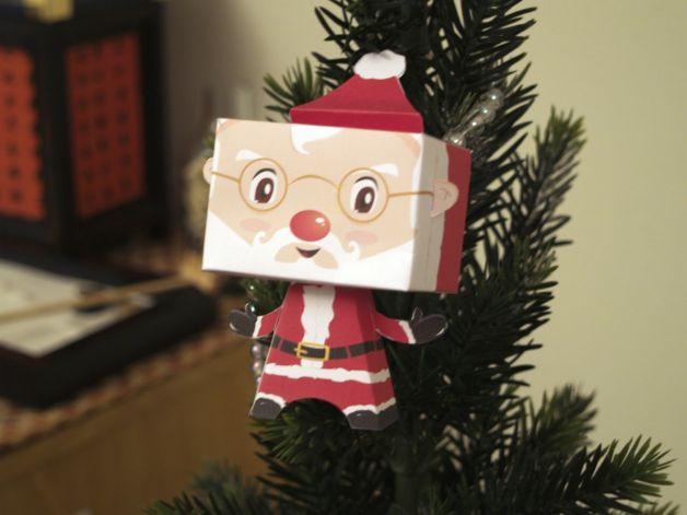 Lavoretti-di-Natale-di-cartone