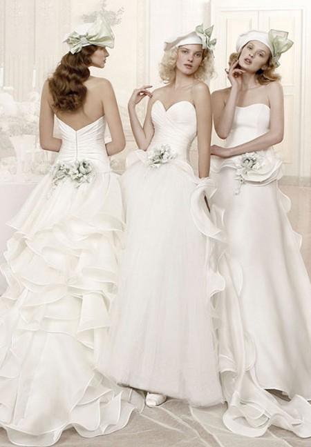 Modelli Redingote in duchesse di seta doppia