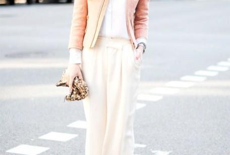 Colori moda autunno 2012, panna e rosa