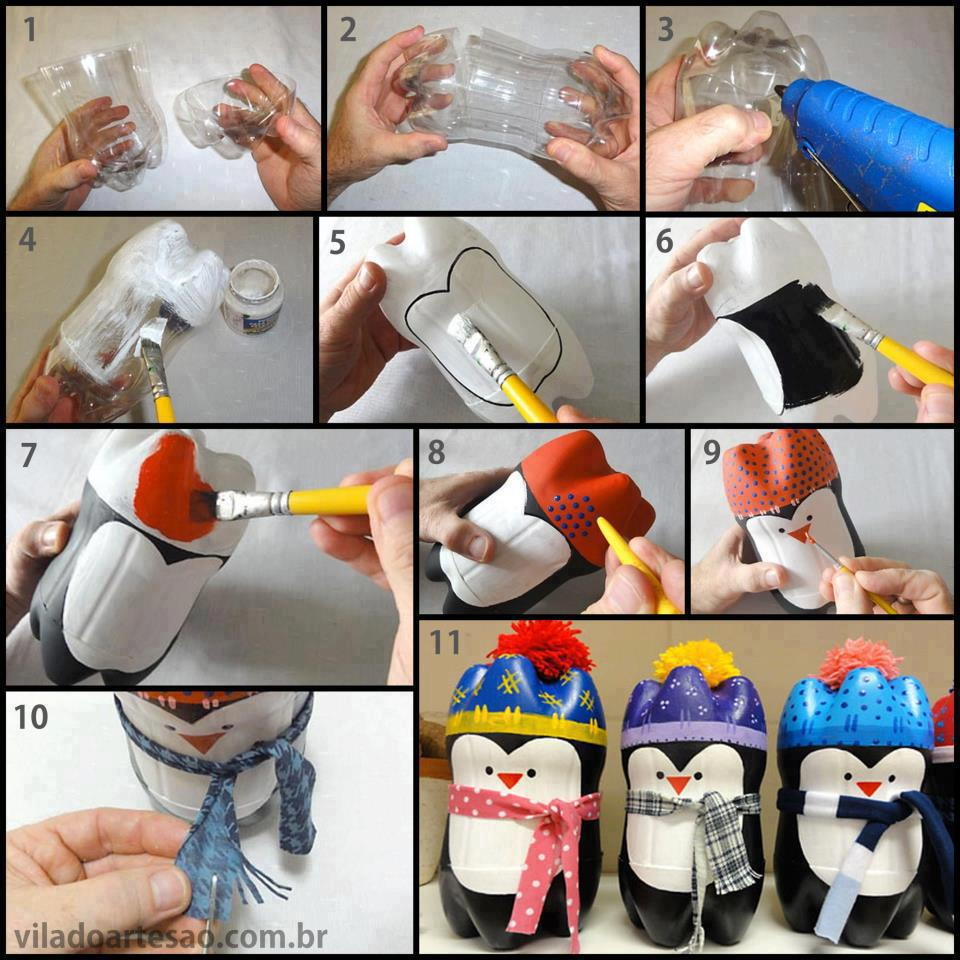 Lavoretti-Natale-bottiglia-plastica