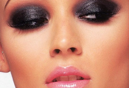 Intenso smokey eyes nero