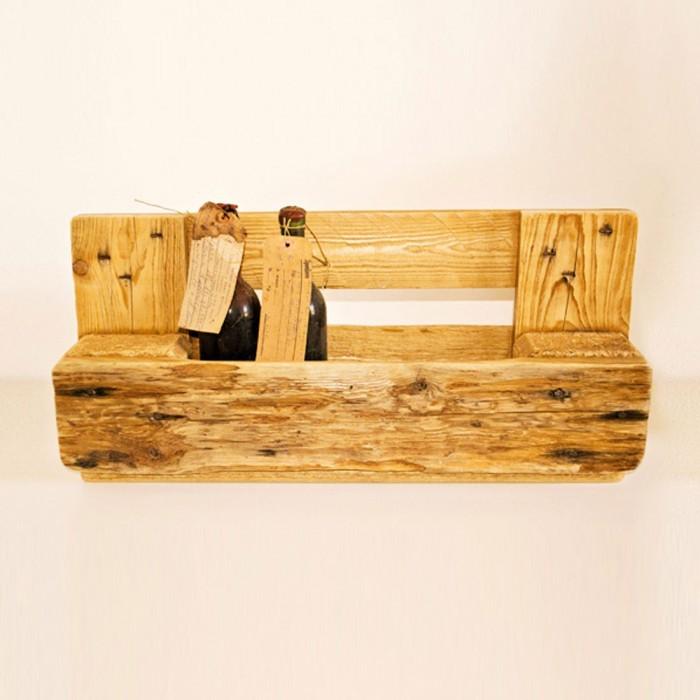 Arredare con i bancali in legno 10 idee foto for Mensole con bancali