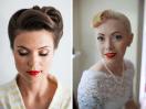Trucco anni 50 per la sposa 2014