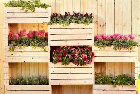 20 idee per riciclare in maniera creativa delle semplici for Planimetrie semplici della casetta di legno