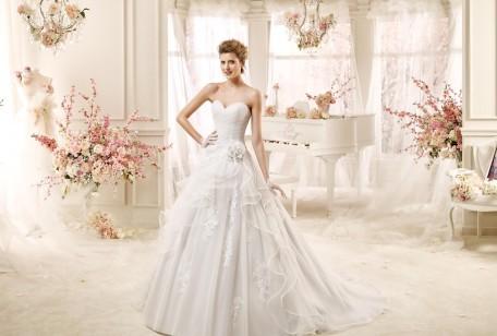 93fd460b364b La collezione di abiti da sposa Colet 2016 ci propone una ricca selezione  di creazioni romantiche e raffinate